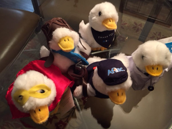 Sales of Aflac Ducks will go towards cancer research fundraising